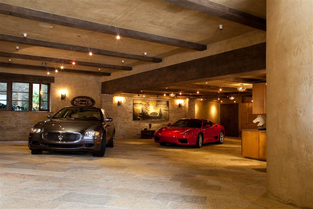 Worlds most beautiful garages16 the fast the famous for Pictures of shops and garages